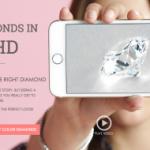 婚約指輪のダイヤモンド決定 (James Allen)